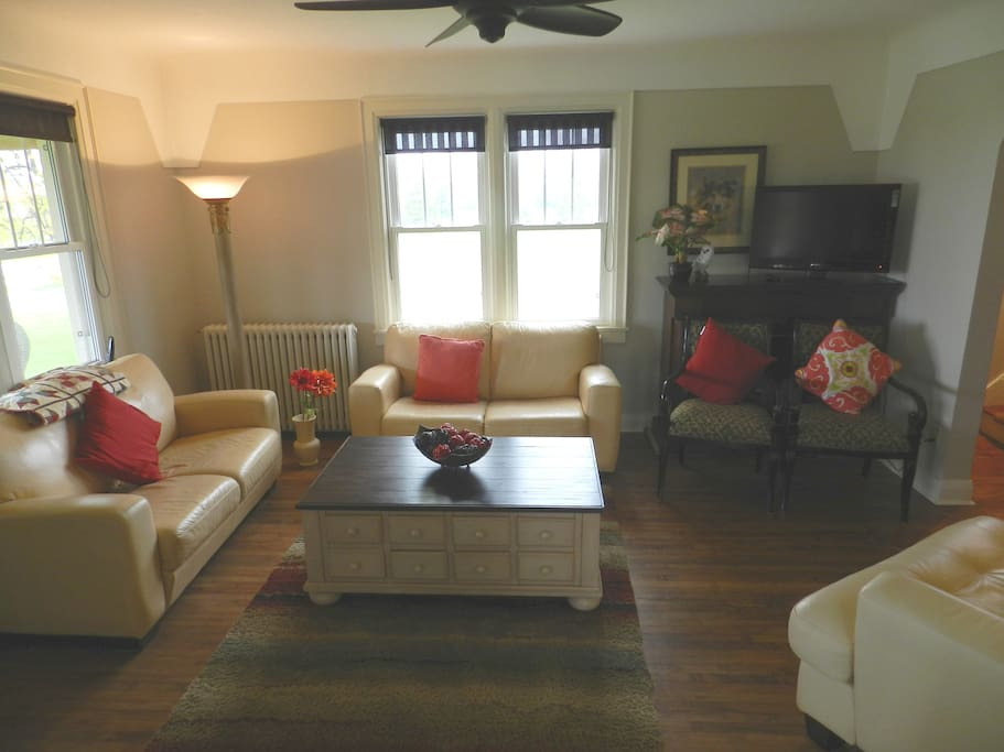 Shared living room space