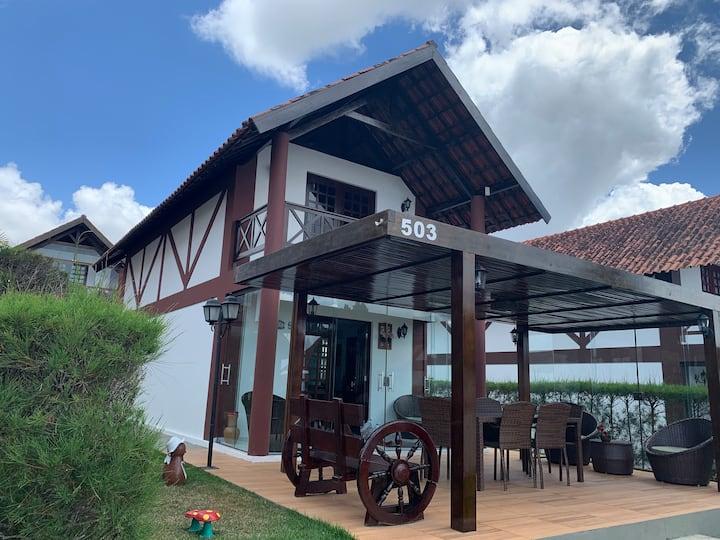 Chalé aconchegante em Bananeiras