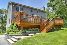 You'll love spending your days outside on the spacious deck.