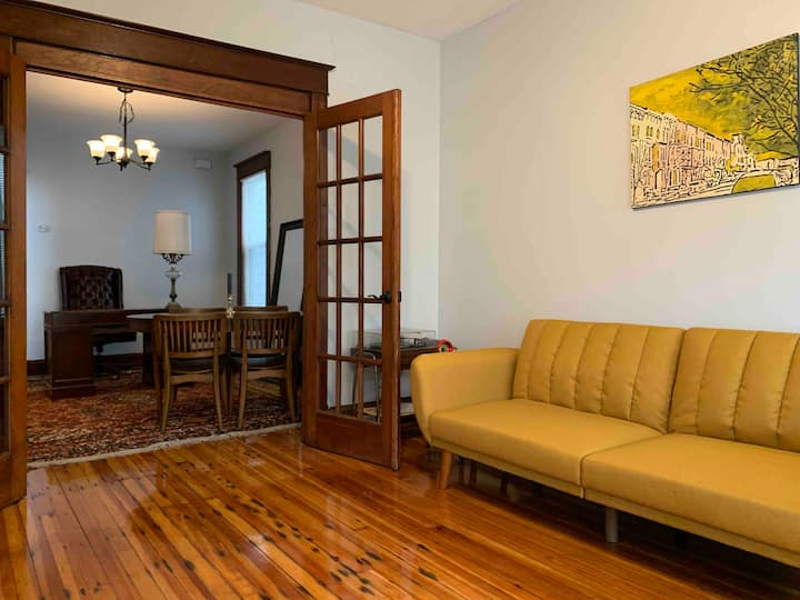 The Midcentury Office & Pine Hills Large 2 Bedroom