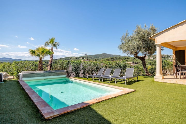 Prestigieuse Villa équipée, Piscine Privée   Panier d'Acceuil + Wi-Fi GRATUIT