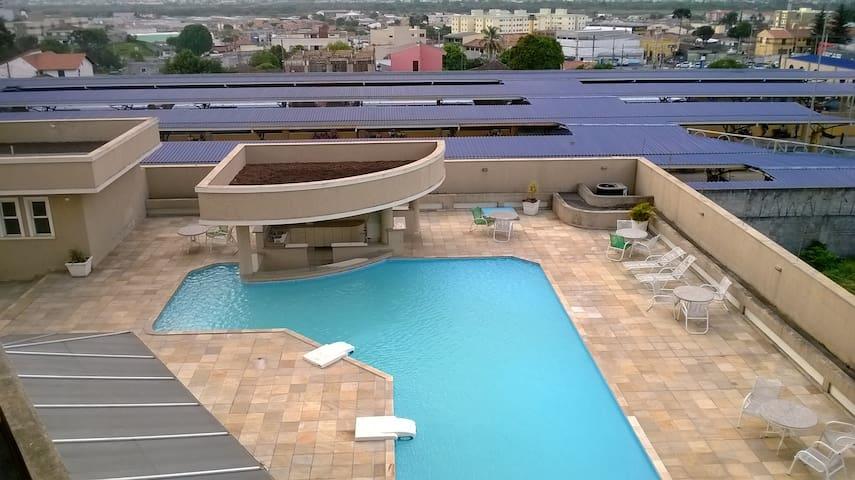 Flat Completo e Confortável - São José dos Pinhais - Apartamento