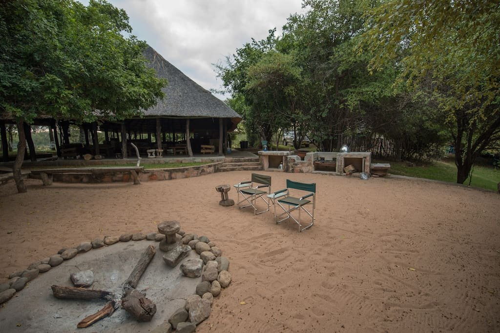 Fireplace and Braai area