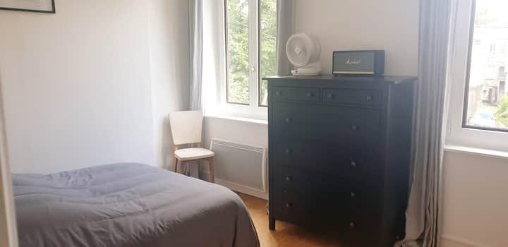 Superbe chambre d'hôtes / maison de ville au calme