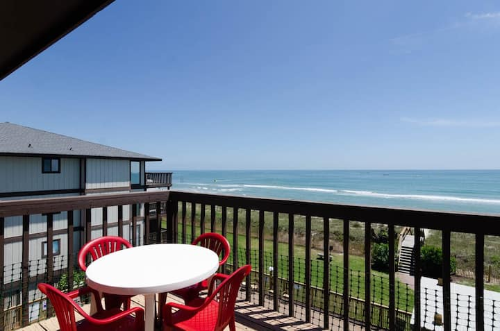 Sunrise Balcony-Adorable one bedroom condo in the beaurful Sea Colony Complex