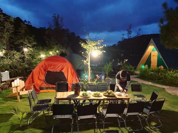 Tent for 2 guests -Ankroet Camp Da Lat City