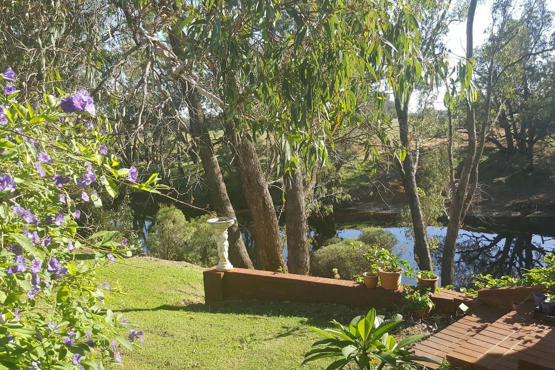 Riverside Retreat, where the senses meet nature.