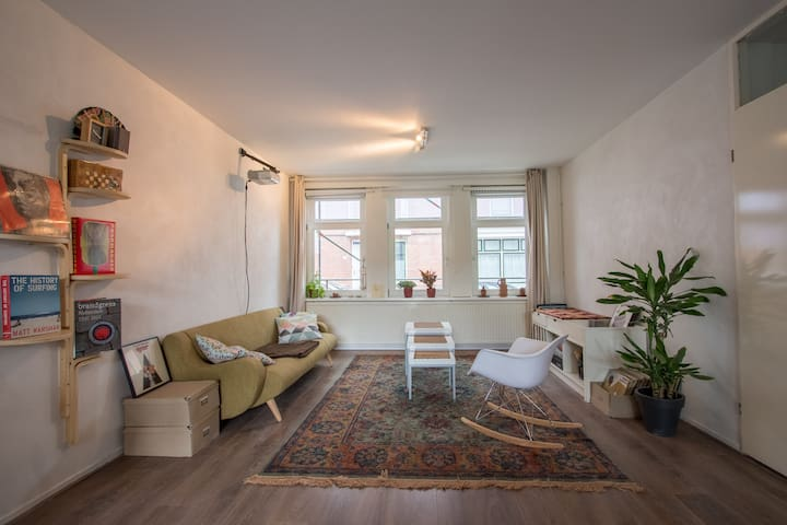 Private apt. close to Central Station and Zoo - Rotterdam - Leilighet