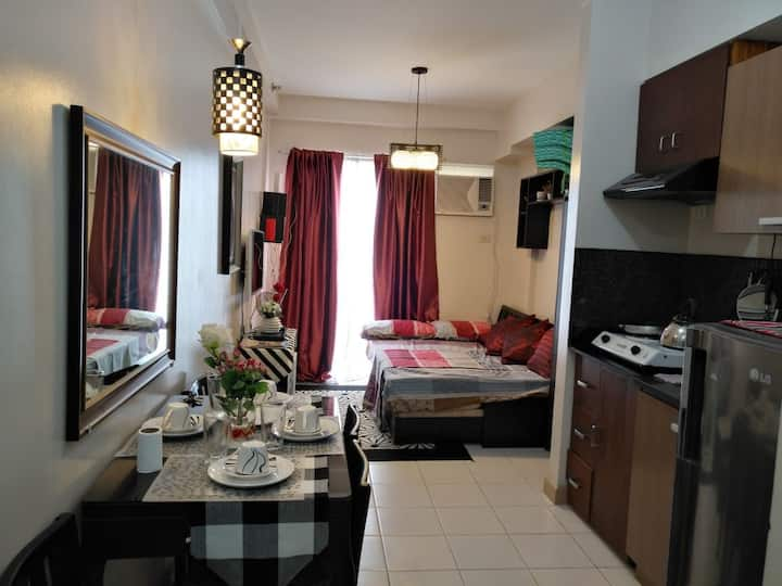 Cozy Studio with WIFI in Northpoint Camella Davao