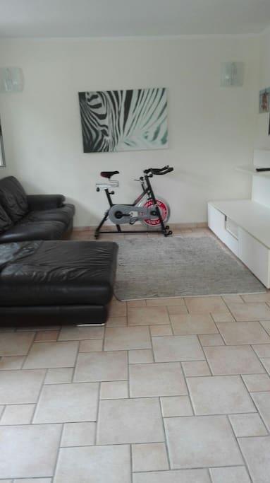 living Room Spinning Bike