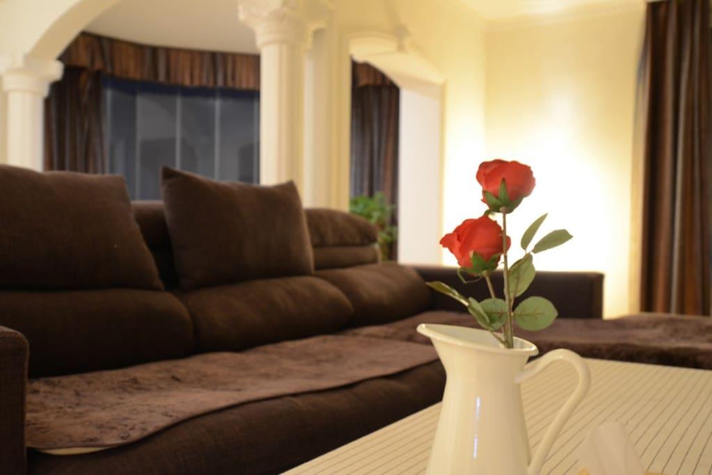 针对情侣、小夫妻打造的二人专项温馨浪漫空间