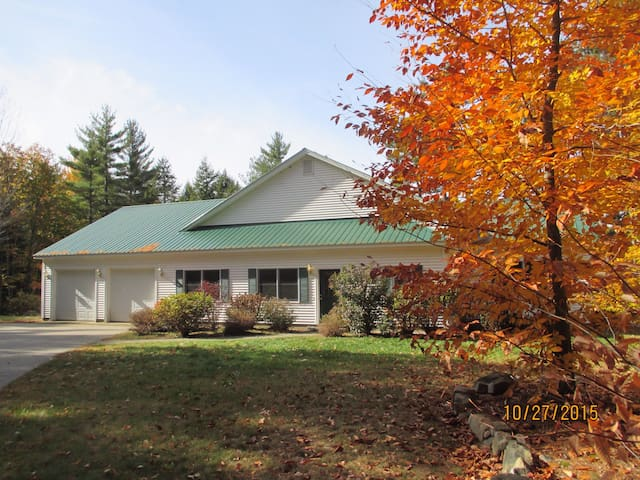 Beautiful Lake House/ Ski House - Conway - Talo