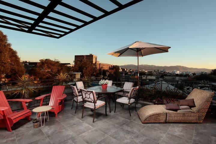 Un Oasis en pleno Centro de la Ciudad