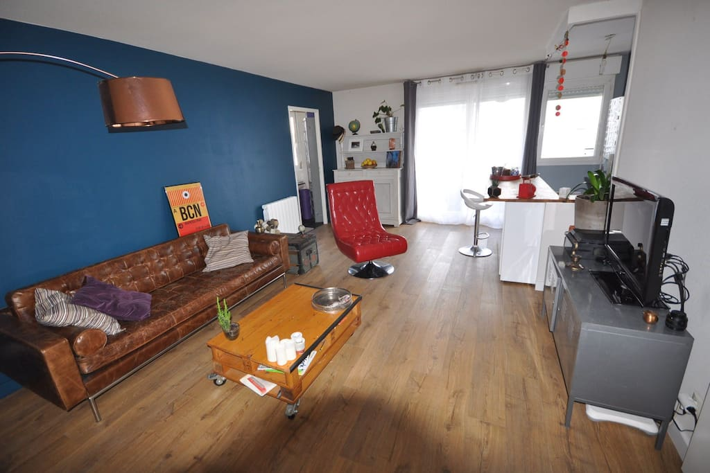 Appartement cosy proche chartrons apartments for rent in for Appartement bordeaux chartrons