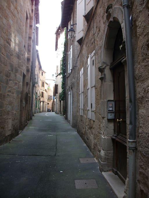 La rue Bonhore