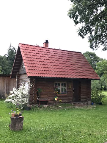Cozy sauna house 10km from Metallica's concert