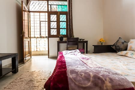 A/C Private Room + Living Room + Kitchen +Washroom - New Delhi - Appartement