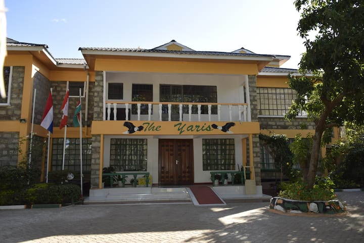 THE YARIS GUESTHOUSE (price is per night per room)
