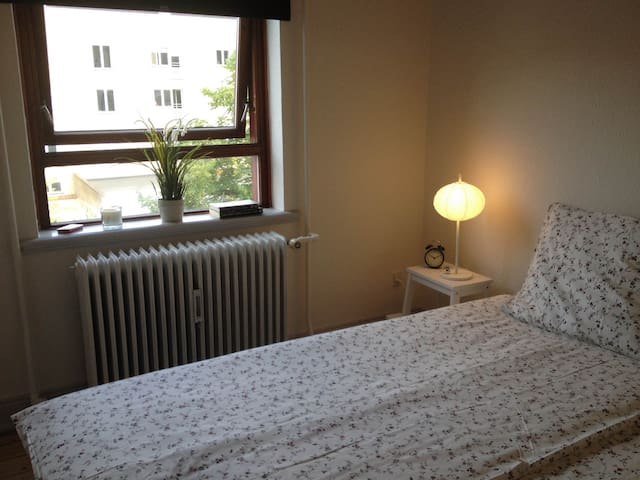 Cosy bedroom in the city centre