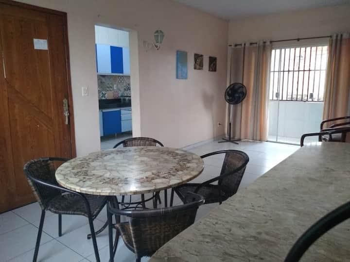 Lindo apartamento em São Brás mobiliado.