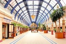 The Famous Blackpool Winter Gardens