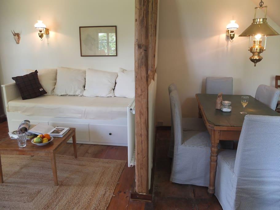 Wohnzimmer und Stube