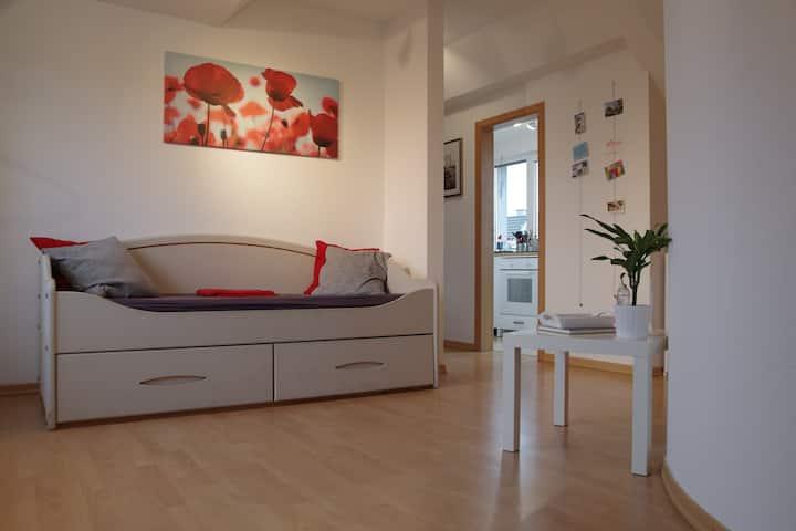 2-Zimmer DG-Wohnung in Neuss-Grimlinghausen