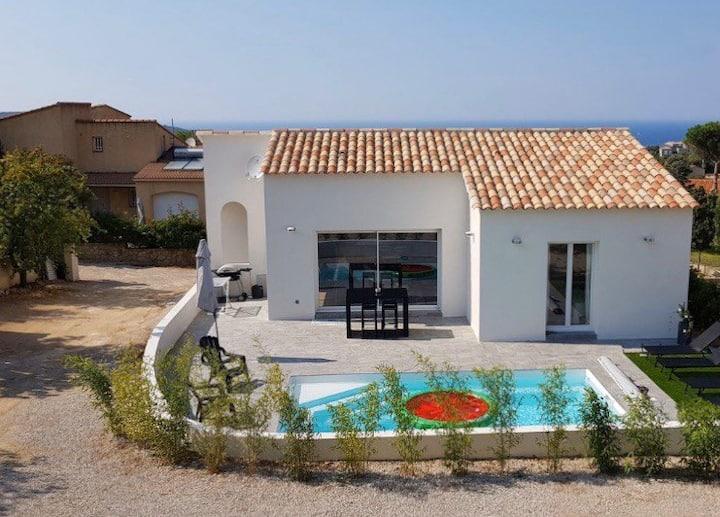 Superbe maison neuve de plus de 120m2 avec piscine