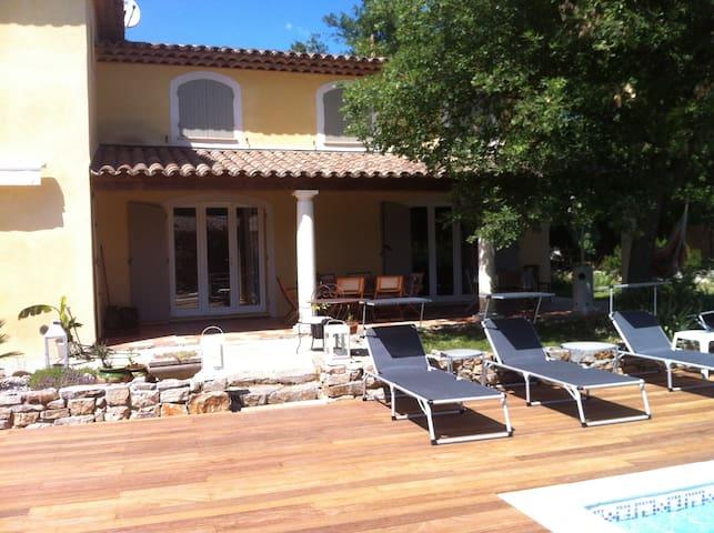 Grande villa provencale - piscine - Montauroux - Dom