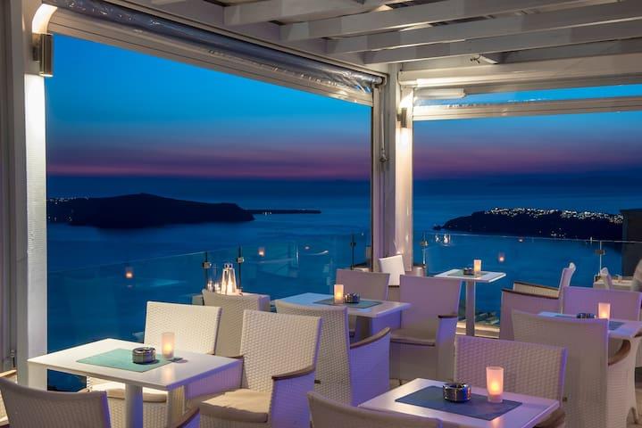 SPIL dbl cald view - Imerovigli - Apartment