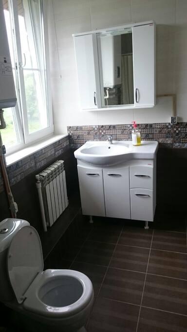 Отдельная ванная комната