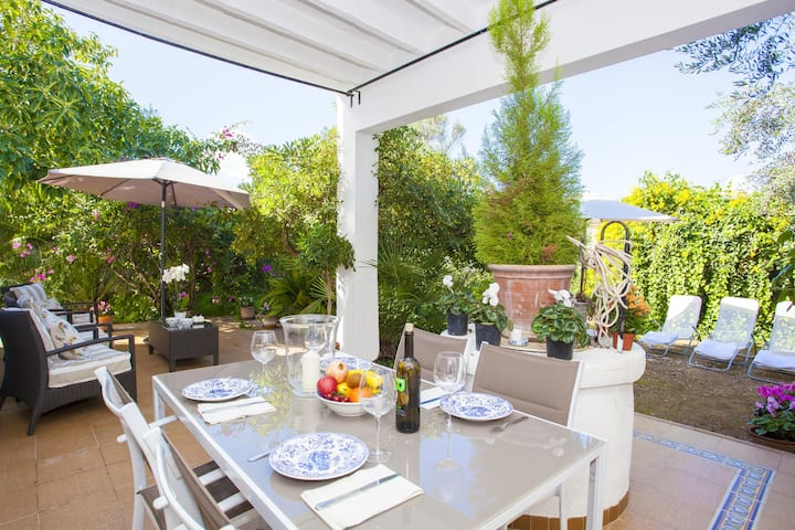 TRES PINS - Chalet with terrace in Colonia de Sant Pere. Free WiFi