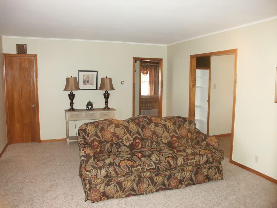 Plenty of room to relax