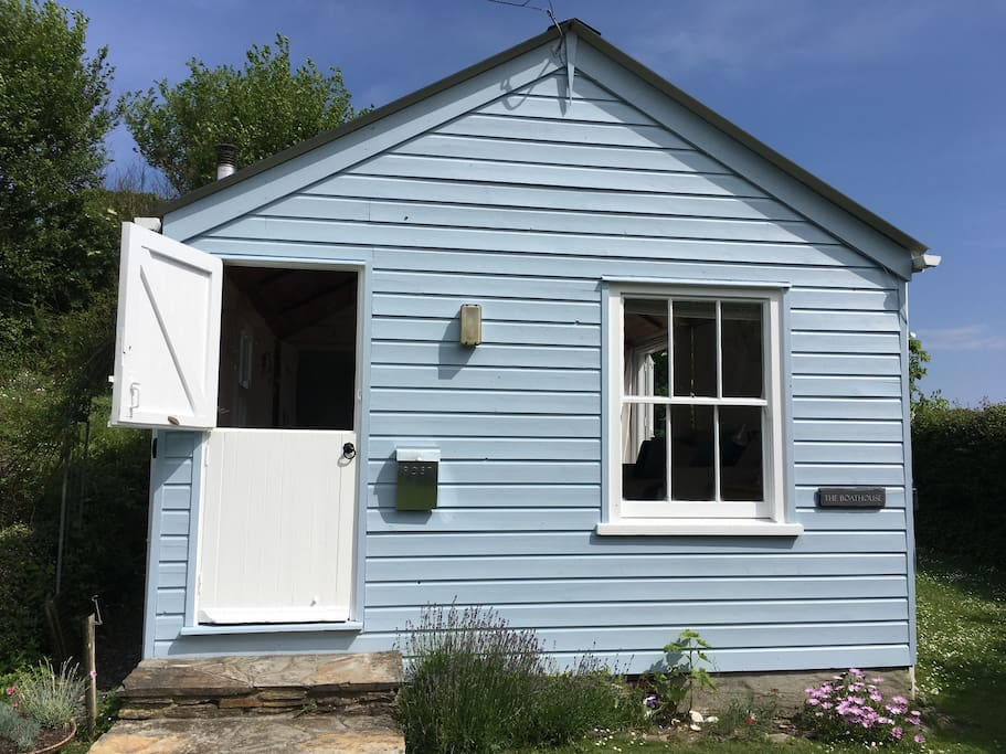Stable doors add character to the property