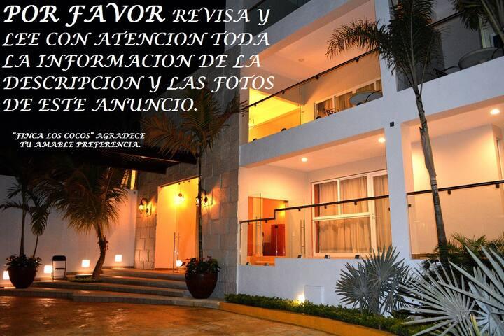 Finca Los Cocos, Hotel Habitacion 03 Suite Jacuzzi