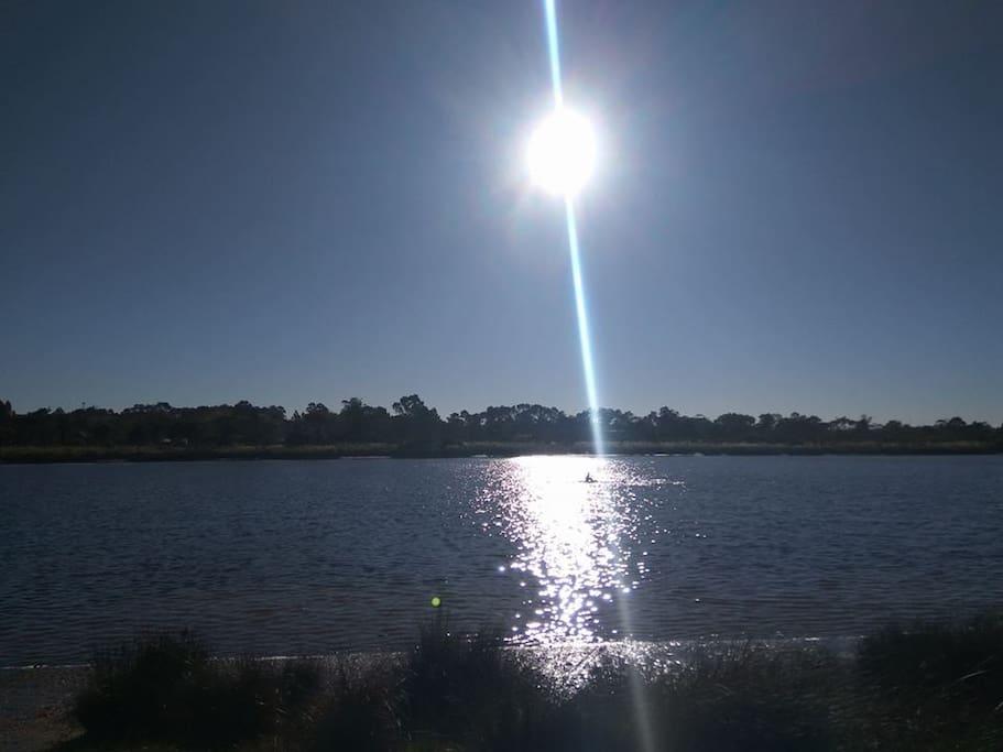 Vista del Arroyo Pando
