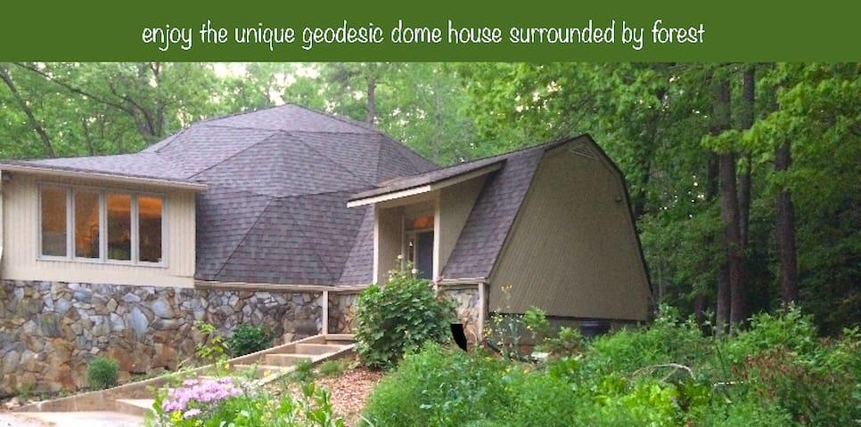 Geodesic Dome Creative Retreat Suite
