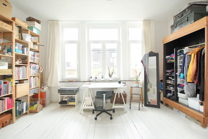 Cosy and vintage apartment - Antwerpen - Departamento
