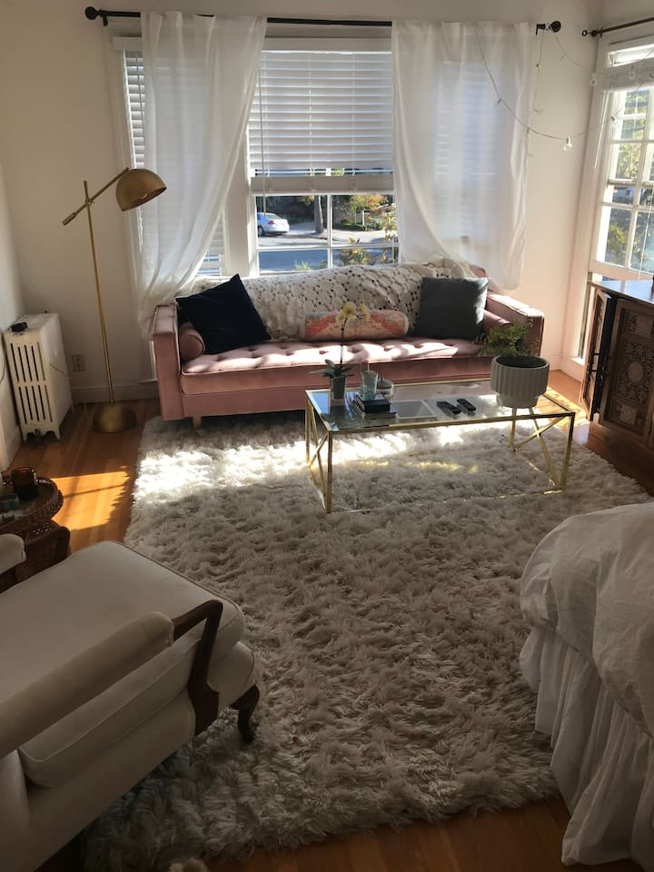 Cute colorful studio close to downtown Burlingame