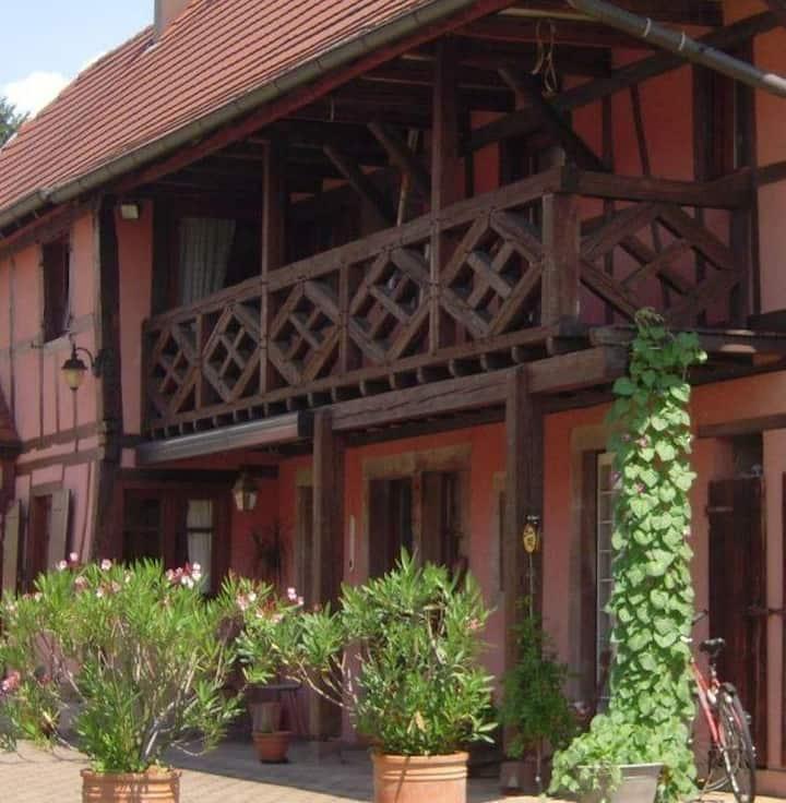 Maison alsacienne charmante et tranquille