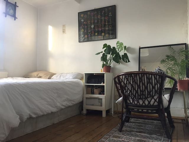 Spacious light filled room in Stoke Newington