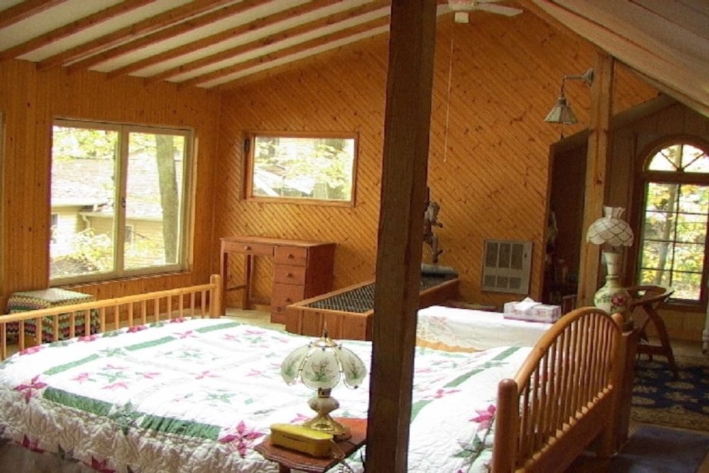 master bedroom, upper level