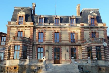 Chambre dans le château - Chaumes-en-Brie - Serviced apartment