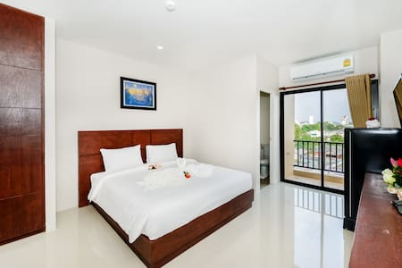 Double bed apartment in Phuket town - Phuket
