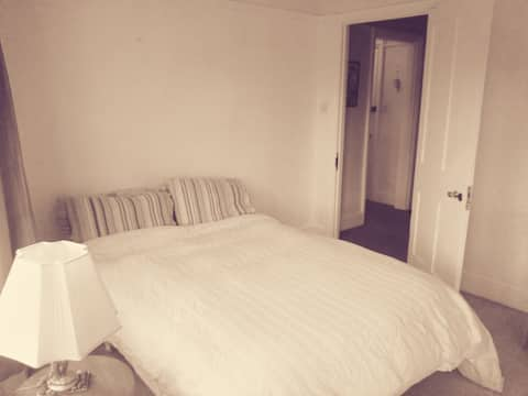 Large double room in period flat close to centre