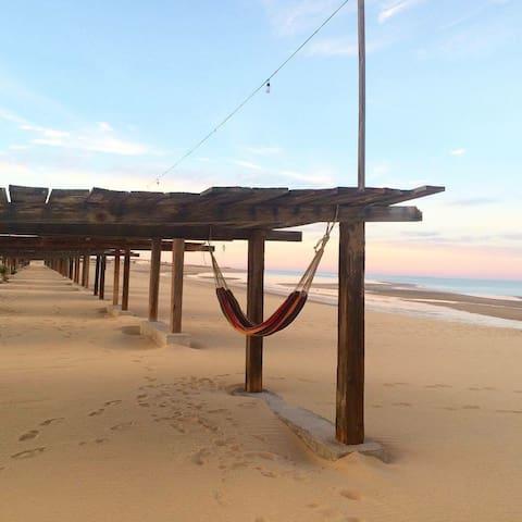Beach front camping @ Rancho Punta Estrella