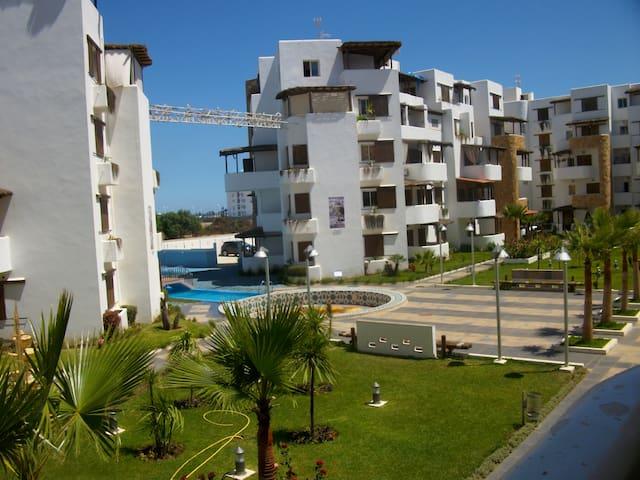 Bel appart meublé en résidence-Localisation idéale - Martil