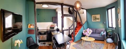 Appartement Centre 2 chambres tout confort