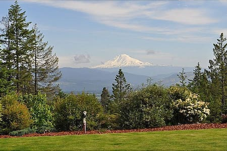 Looking North - Mt. Adams View - Hood River - 独立屋
