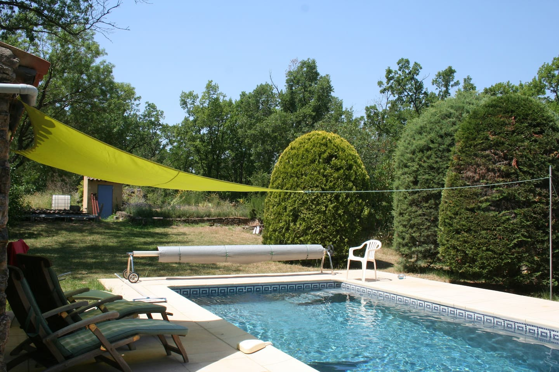 Pool...shallow end